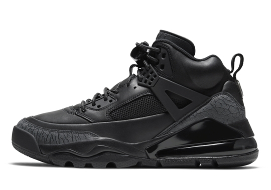 Jordan Spiz'ike 270 Boot Arriving In Triple Black