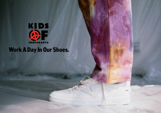 "Kids Of Immigrants And Vans Launch ""Work A Day In Our Shoes"" Campaign"