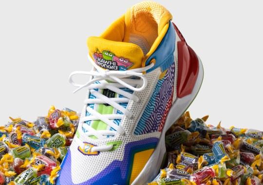 "Kawhi Leonard Brings His Sweet Tooth To The New Balance KAWHI ""Jolly Rancher Collection"""