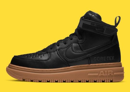 The Nike Air Force 1 High GORE-TEX Gets A Season-Ready Black And Gum
