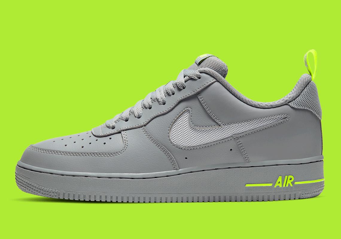 Nike Air Force 1 Low Grey Volt DC1429