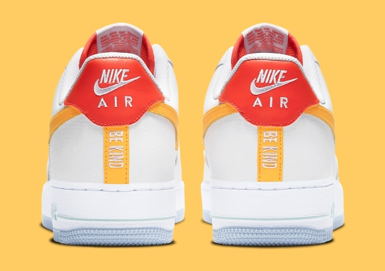 "The Nike Air Force 1 Low Sends A ""Be Kind"" Message"