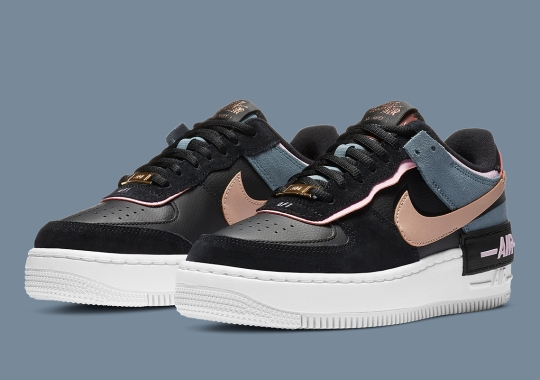 Nike Continues Odd Layering Of Colors On The Popular Air Force 1 Shadow