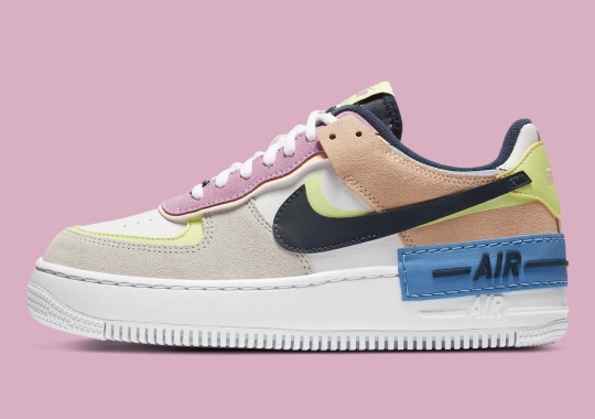 The Nike Air Force 1 Shadow Appears In More Pastels Ahead Of Winter