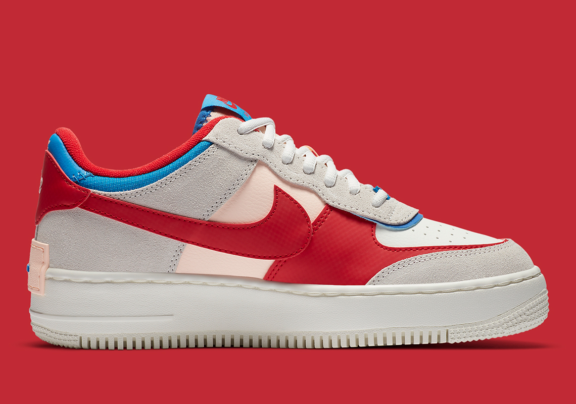 Nike Air Force 1 Shadow Cu8591 100 Release Info Sneakernews Com The nike air force 1 shadow, a women's exclusive release, will debut in a new theme. nike air force 1 shadow cu8591 100