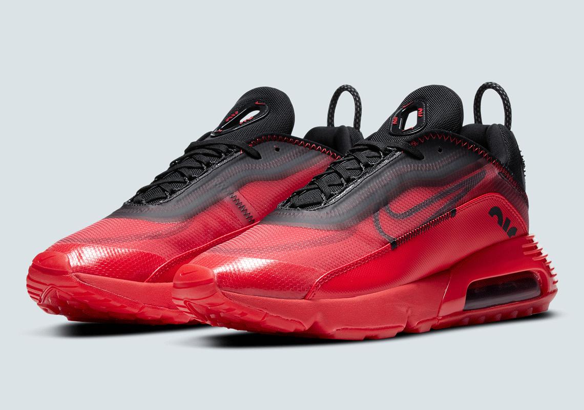 Nike Air Max 2090 Black Red DC1851-600 Release | SneakerNews.com
