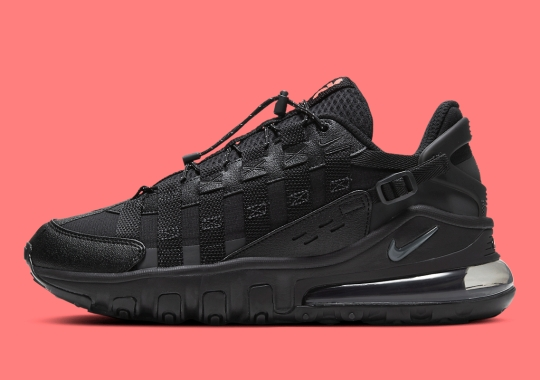 The Nike Air Max 270 Vistascape Gets The Triple Black Treatment