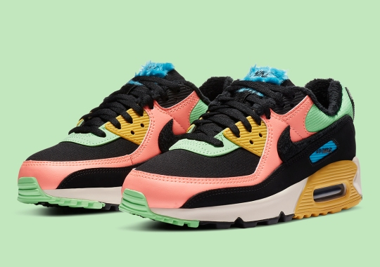 Nike's Furry Air Max 90 Gets Bright Neon Exteriors