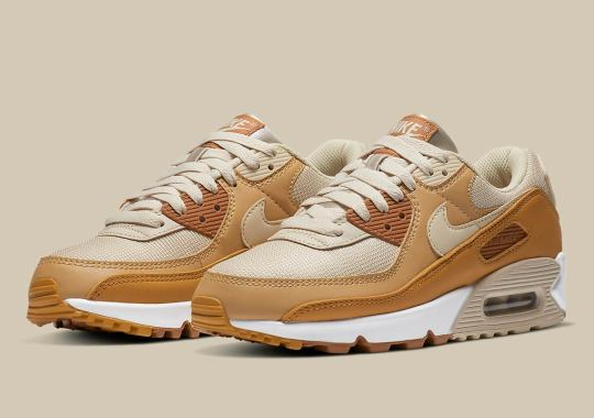 The Nike Air Max 90 Is Arriving Soon In A Mix Of Caramel Brown Shades