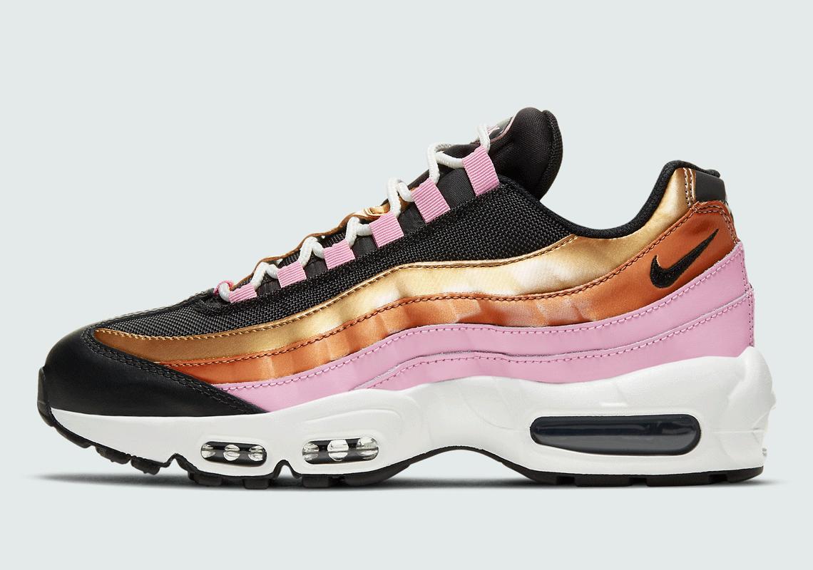 Nike Air Max 95 Women's Pink Gold CU8080-800   SneakerNews.com