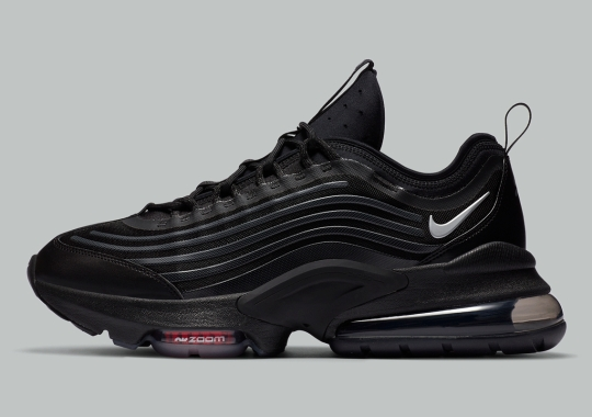 The Nike Air Max ZM950 Gets A Stark Black/Red Colorway