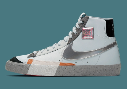 Nike Experiments With Bold Color-Blocking On This Retro-Future Blazer Mid
