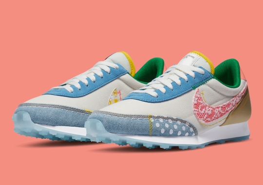 Lace And Polka Dots Cover This Women's Nike Daybreak