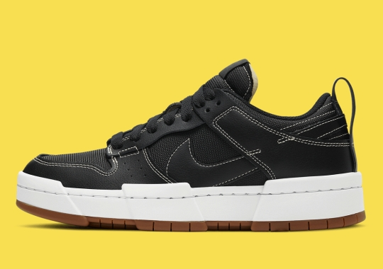 Contrast Stitching Accentuates The Exaggerated Nike Dunk Low Disrupt
