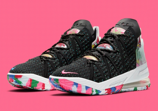 "The Nike LeBron 18 ""James Gang"" Arrives On October 9th"