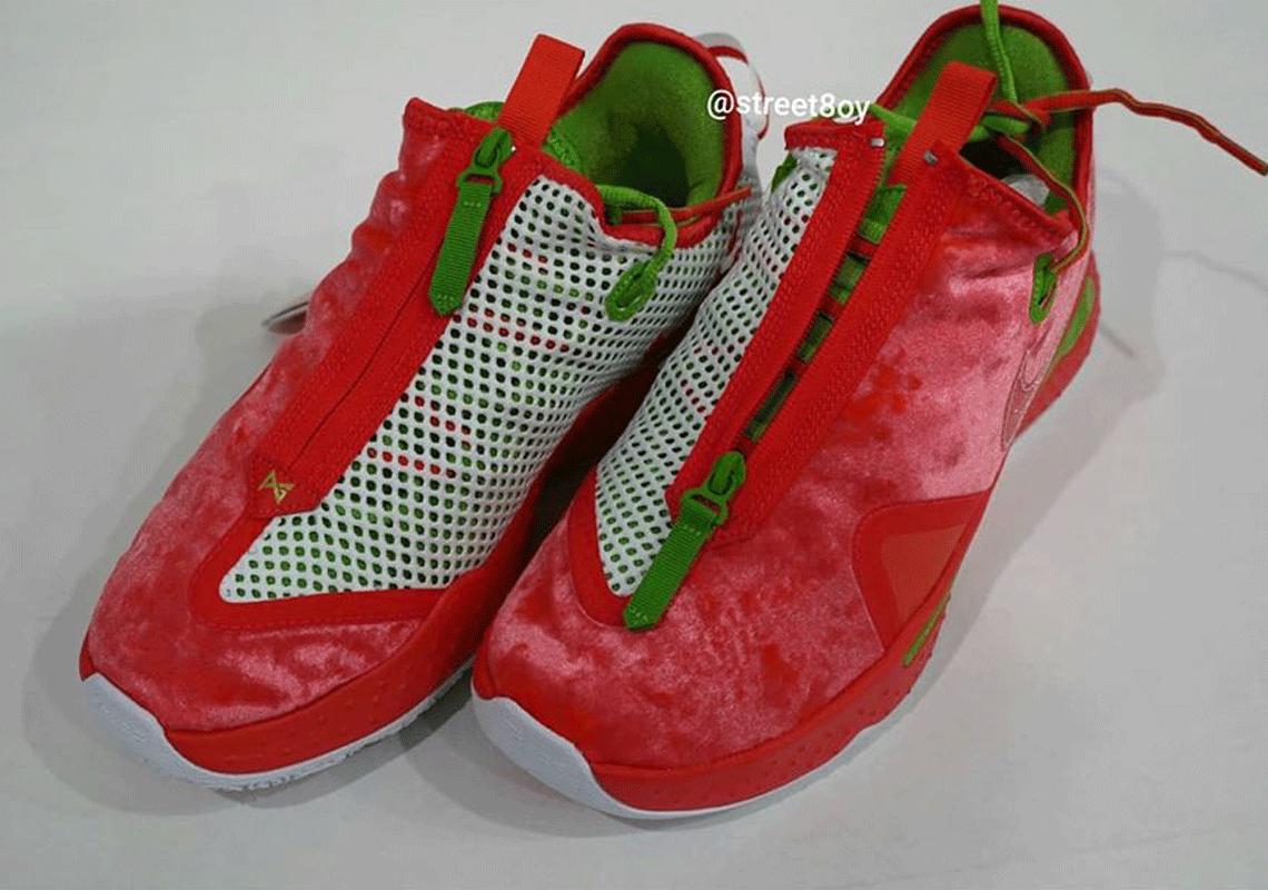 2020 Nike Christmas Shoes Nike PG 4 Christmas 2020 CD5082 602 Release Date | SneakerNews.com