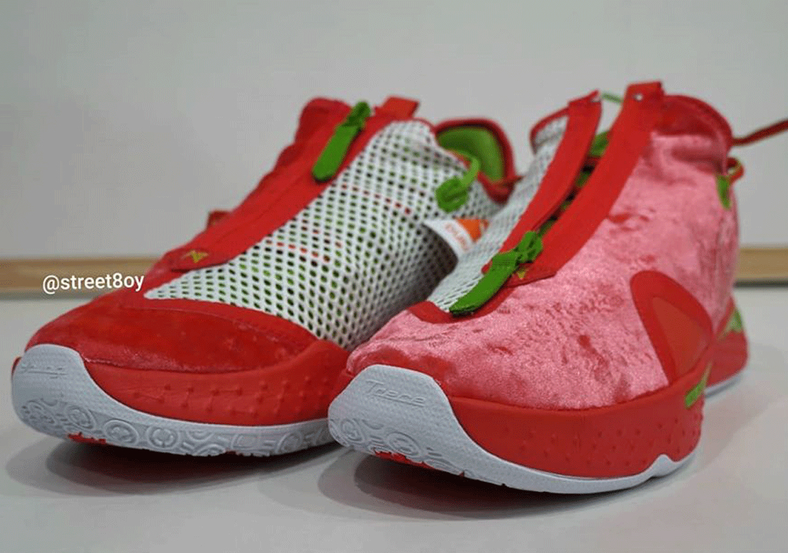 2020 All Christmas Sneaker Releases Nike PG 4 Christmas 2020 CD5082 602 Release Date | SneakerNews.com