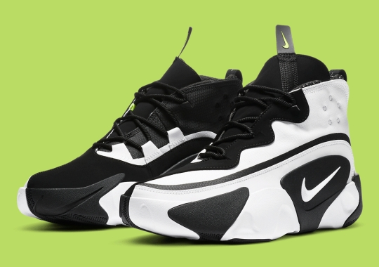 A 90s Friendly Black/White Colorway Is Coming Soon To The Nike React Frenzy