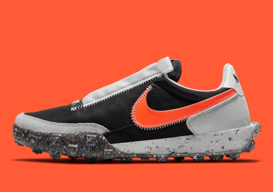 The Nike Waffle Racer Carter Gets A Lunar Grey/Black Colorway
