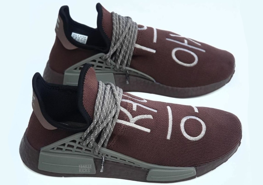 Pharrell's adidas NMD Hu Appears With Korean Lettering