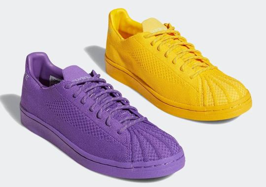 Pharrell And adidas Revive The Primeknit Superstar With A Series Of Vibrant Colorways
