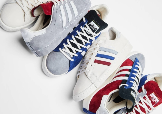 RECOUTURE's adidas Campus 80 Collaboration Returns In Three New Colorways