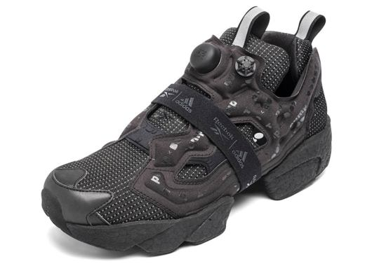 Reebok And adidas Deliver The Instapump Fury BOOST In Triple Black
