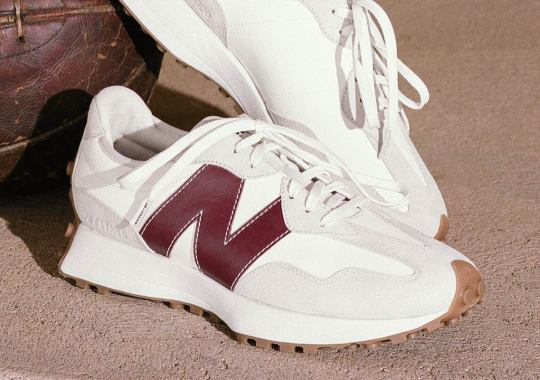 STAUD Opens Their Second New Balance Collaboration With The 327 Silhouette