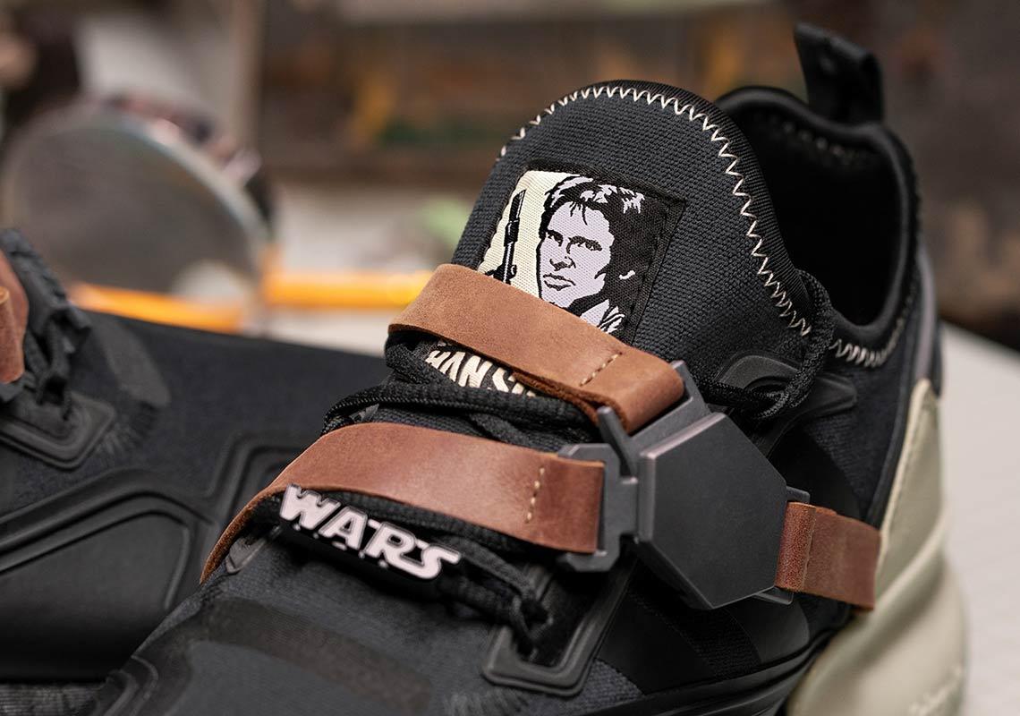 Star Wars adidas ZX 2K BOOST Han Solo