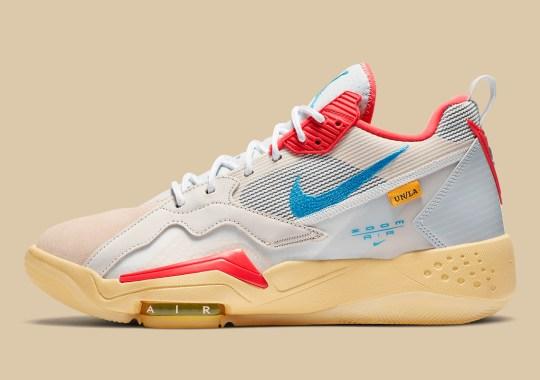 "Official Images Of The Union LA x Jordan Zoom '92 ""Guava Ice"""