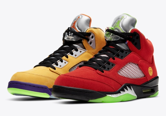 "Official Images Of The Air Jordan 5 Retro SE ""What The"""