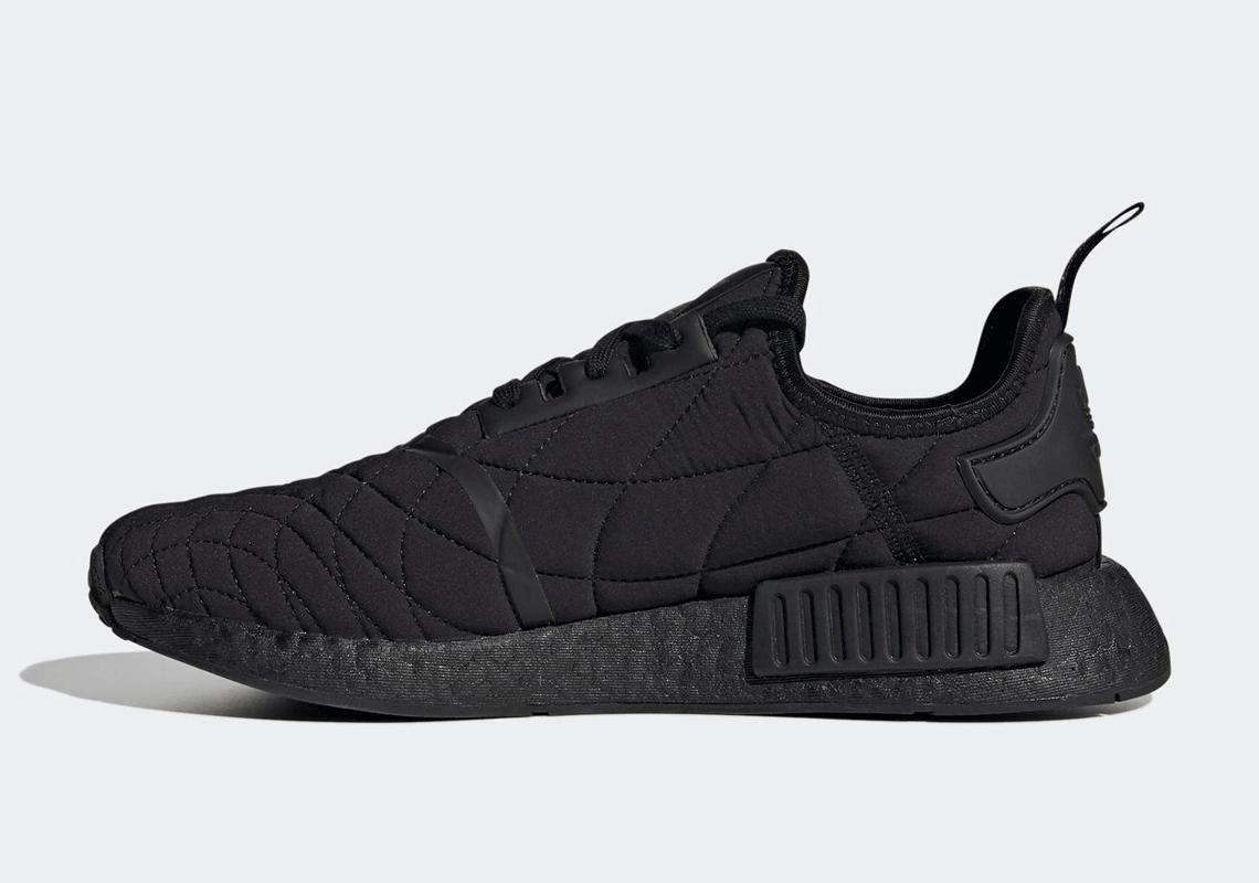 adidas NMD R1 Qulited Black Sneaker FV1731 |