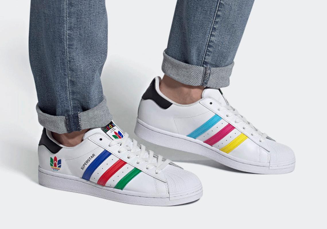 Adidas Superstar White Inclusivity Fu9521 Fw5387 Sneakernews Com