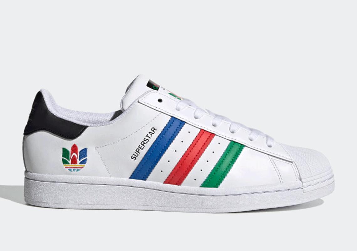 adidas superstar colorful