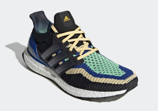 The adidas Ultra Boost 2.0 Gets Royal, Mint, And Tan Accents