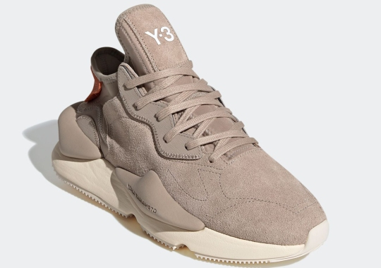 The adidas Y-3 KAIWA Appears In A Tonal Khaki Suede Colorway