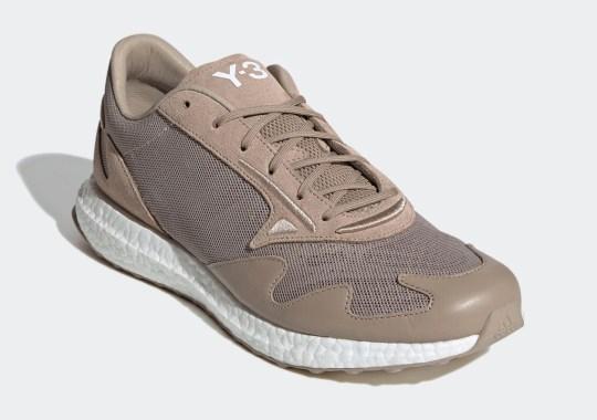 The adidas Y-3 Rhisu Run Is Coming Soon In Tan Leathers