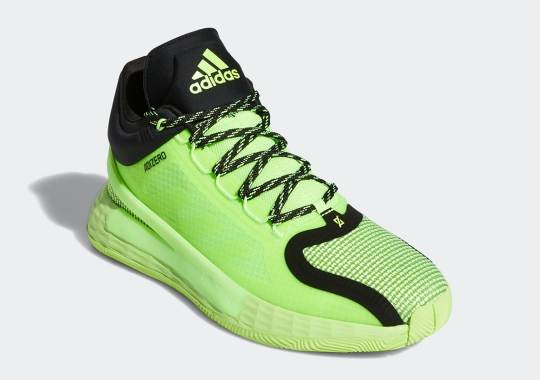 "The adidas D Rose 11 Gets A Bright ""Signal Green"" Colorway"