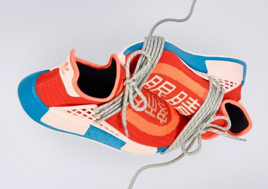 "Where To Buy The Pharrell x adidas NMD Hu ""Bold Orange"""
