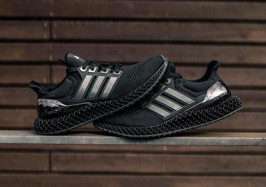 adidas Ultra 4D Gets The Triple Black Treatment
