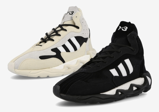 adidas Y-3 Reworks The FYW S-97 With BOOST And High Cut