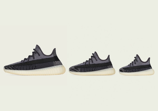 "adidas Yeezy Boost 350 v2 ""Carbon"" Confirmed For October 2nd Release"
