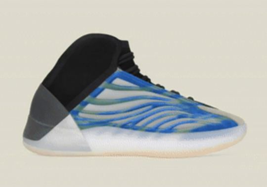 "The adidas Yeezy Quantum ""Frozen Blue"" To Drop In Lifestyle And Basketball Versions This December"