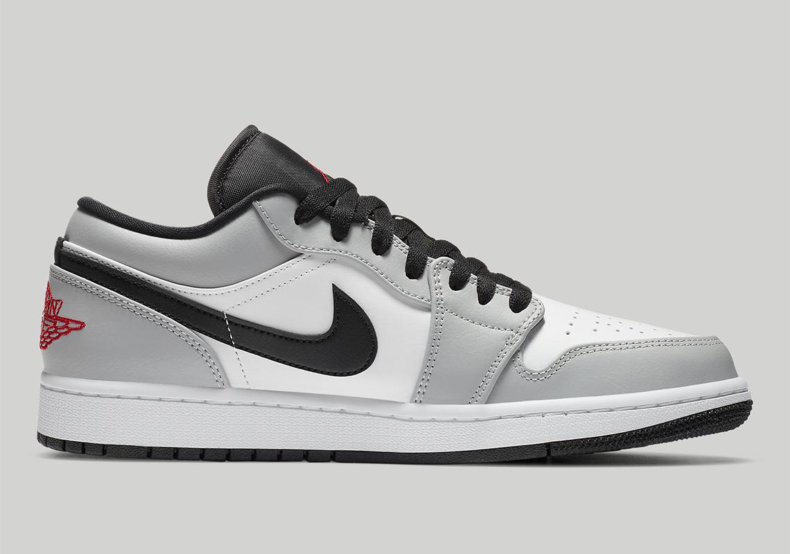 Air Jordan 1 Low Light Smoke Grey 553558-030   SneakerNews.com