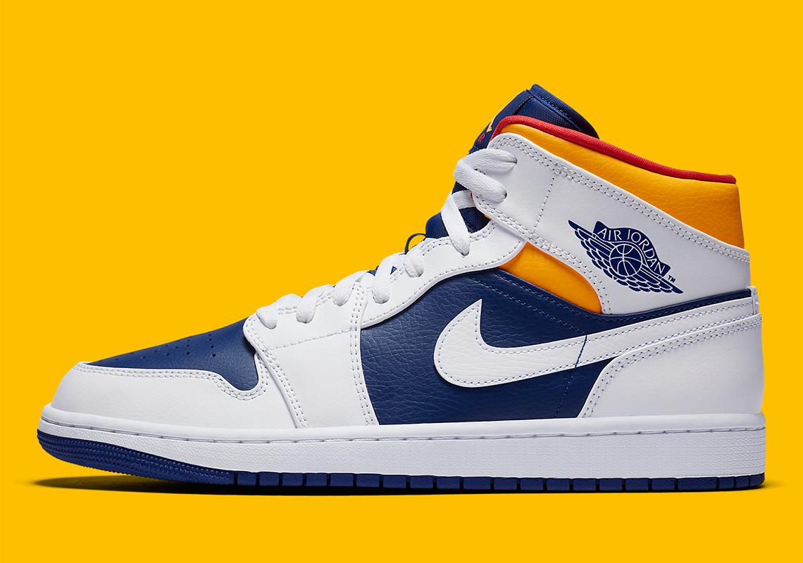 Air Jordan 1 Mid 554724-131 Release Info   SneakerNews.com