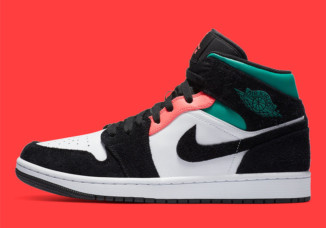 "Air Jordan 1 Mid SE Gets ""South Beach"" Accents"