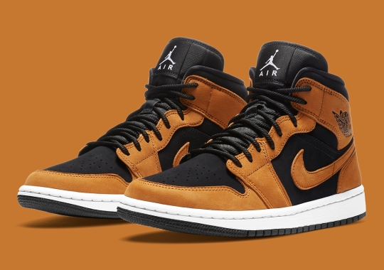 "Air Jordan 1 Mid Gets The Seasonal ""Wheat"" Look"