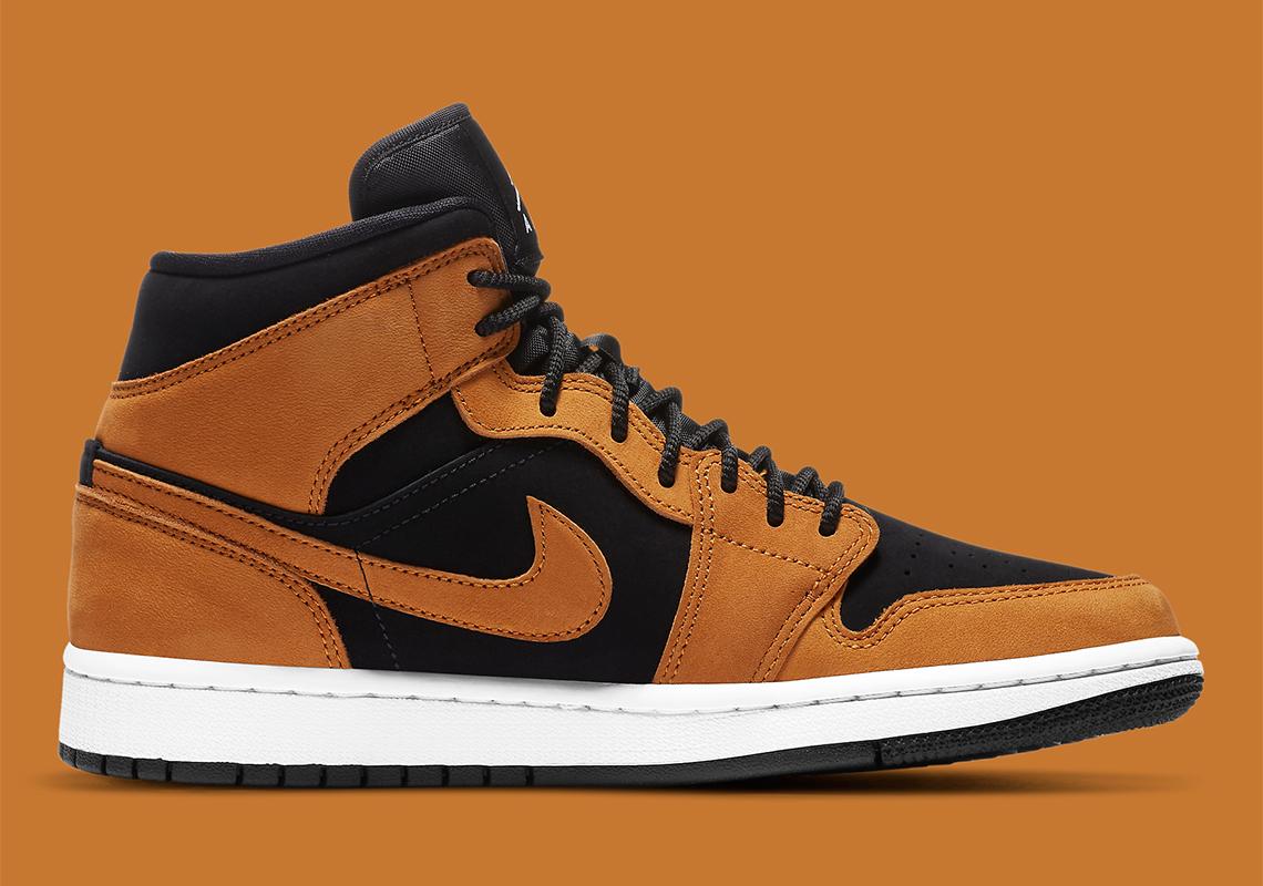 Air Jordan 1 Mid Wheat DB5453-700 Release Info | SneakerNews.com