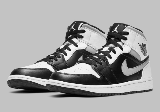 "Air Jordan 1 Mid ""White Shadow"" Alters An OG Colorway"