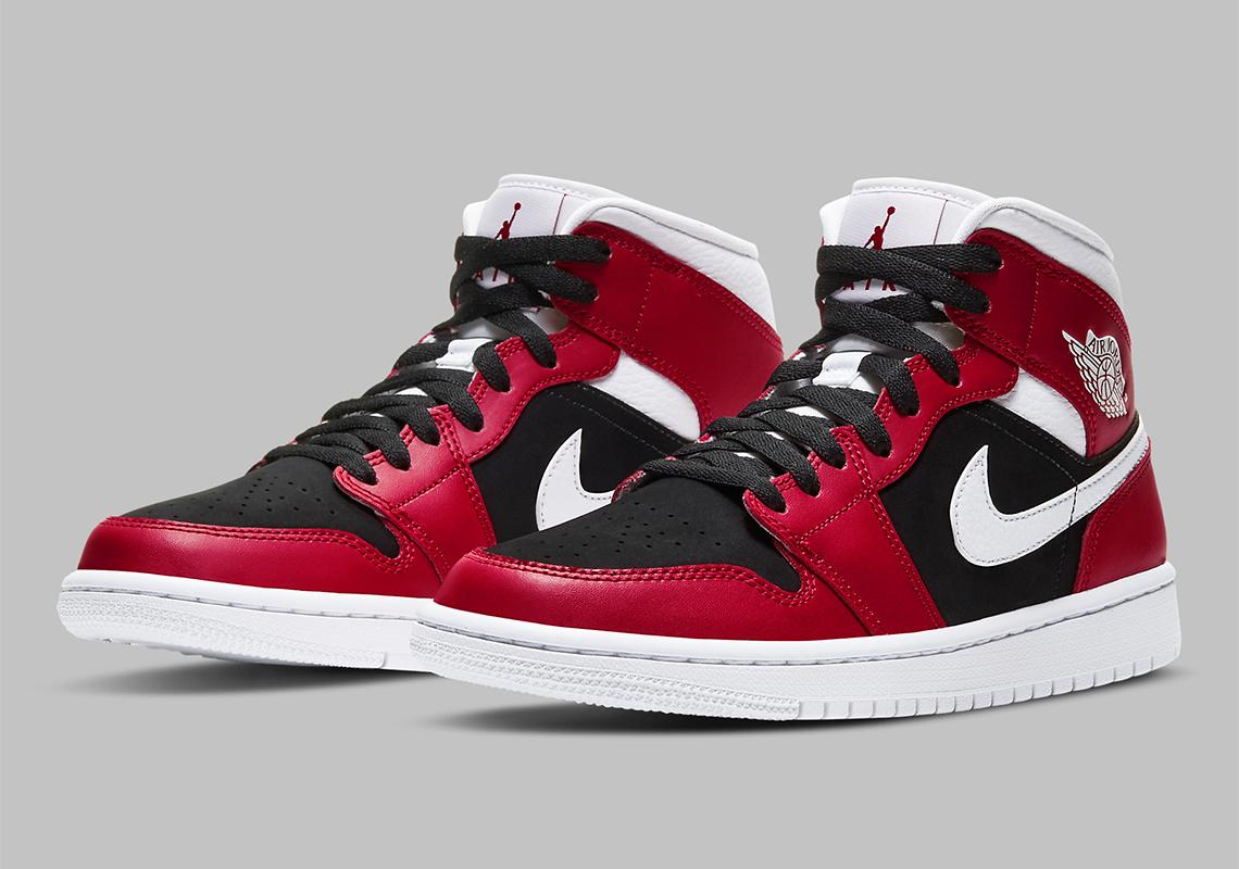 álbum Espectador suspicaz  Air Jordan 1 Mid WMNS Gym Red Black BQ6472-601 | SneakerNews.com